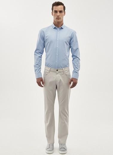 Altınyıldız Classics Regular Fit Desenli Pantolon 4A0118200016 Taş
